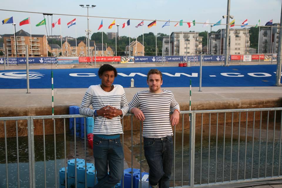 Loic et JP à Cardiff